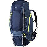 Mc Kinley Trek-RS Make 65 + 10 Wanderrucksack navy/blau/lime