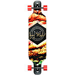"Madrid Autumn Trance 40"" Drop-Thru Longboard schwarz"