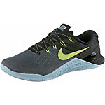 Nike Metcon 3 Fitnessschuhe Damen dunkelgrau/hellgrün