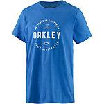 Oakley T-Shirt Herren blau