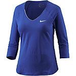 Nike Pure Funktionsshirt Damen blau
