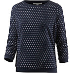 TOM TAILOR Sweatshirt Damen real navy blue