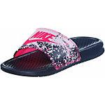 Nike WMNS BENASSI JDI PRINT Pantoletten Damen navy/allover