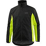 Gore GBW GWS Fahrradjacke schwarz/gelb