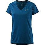 Nike Miler Laufshirt Damen navy