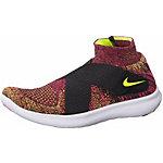 Nike Free RN Motion Flyknit 2 Laufschuhe Damen schwarz/grau