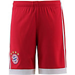 adidas FC Bayern 17/18 Heim Funktionsshorts Kinder FCB TRUE RED