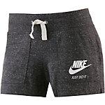 Nike Gym Vintage Shorts Damen schwarz/melange