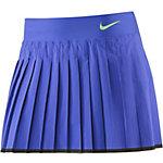 Nike Victory Skirt Tennisrock Damen blau