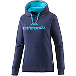 Kathmandu KMD v2 Hoodie Damen moonlight-pacific blue