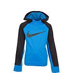 Nike Therma Hoodie Kinder hellblau / petrol
