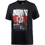 Element DUAL SS T-Shirt Herren schwarz
