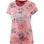Superdry T-Shirt Damen pink