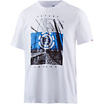 Element DUAL SS T-Shirt Herren weiß