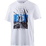 Element DUAL SS T-Shirt Herren weiß