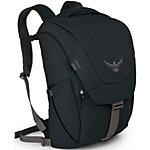 Osprey Flap Jack Daypack schwarz
