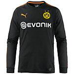 PUMA Borussia Dortmund 17/18 Torwarttrikot Herren Puma Black-Fluo Orange