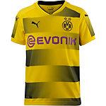 PUMA Borussia Dortmund 17/18 Heim Fußballtrikot Kinder Cyber Yellow-Puma Black