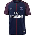 Nike Paris Saint-Germain 17/18 Heim Fußballtrikot Kinder blau/rot