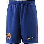 Nike FC Barcelona 17/18 Heim Funktionsshorts Kinder blau/gold