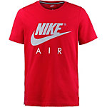 Nike T-Shirt Jungen UNIVERSITY RED/WOLF GREY