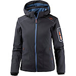 CMP Woman Softshell Zip Hood Jacket Softshelljacke Damen antracite-storm