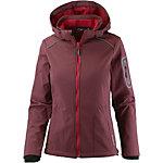 CMP Woman Softshell Zip Hood Jacket Softshelljacke Damen ruby