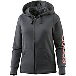adidas Essentials Sweatjacke Damen dark grey heather