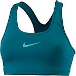 Nike Pro Classic Swoosh Sport-BH Damen BLUSTERY/LIGHT AQUA