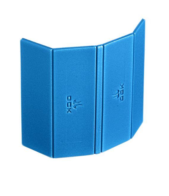 Sitzkissen in blau