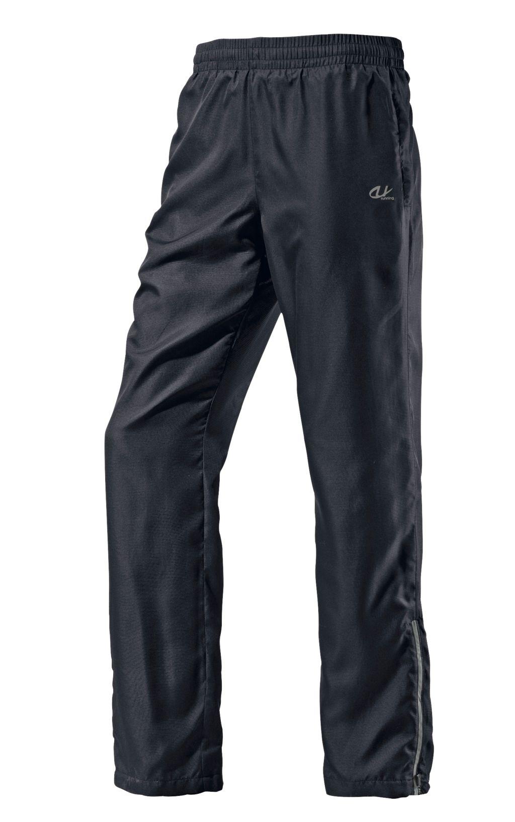 Laufhose Herren in schwarz, Größe M