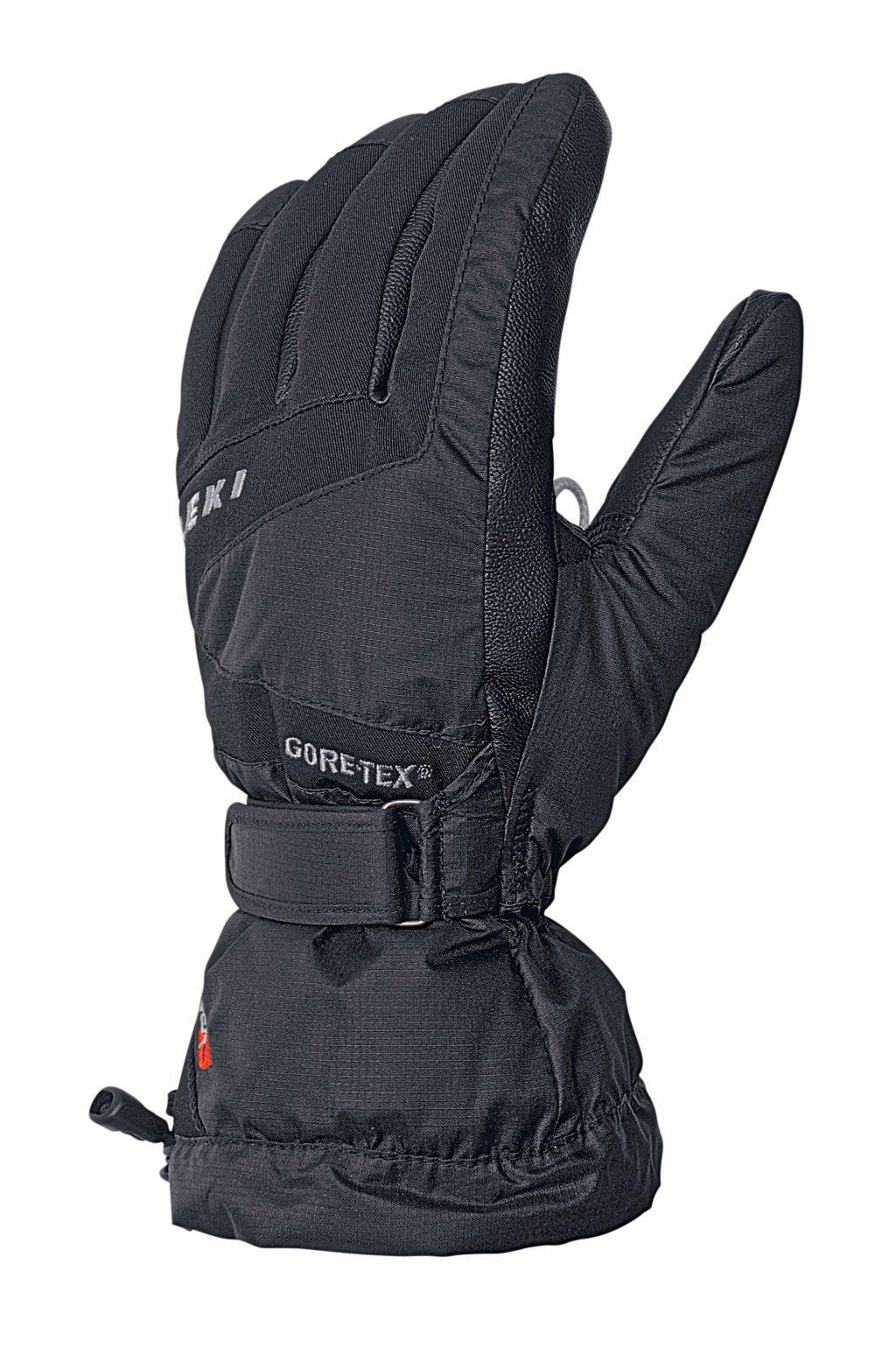Scale S Skihandschuhe in schwarz, Größe 11