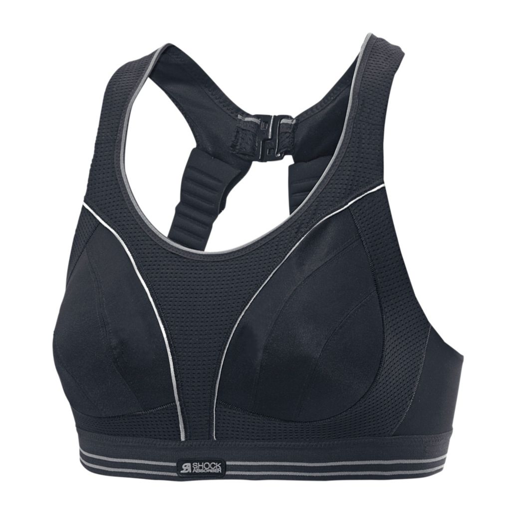 RUN Sport-BH Damen in schwarz, Größe 85 / C