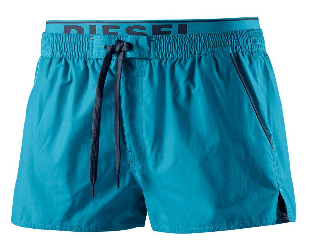 Barrely Badeshorts Herren in blau, Größe XL
