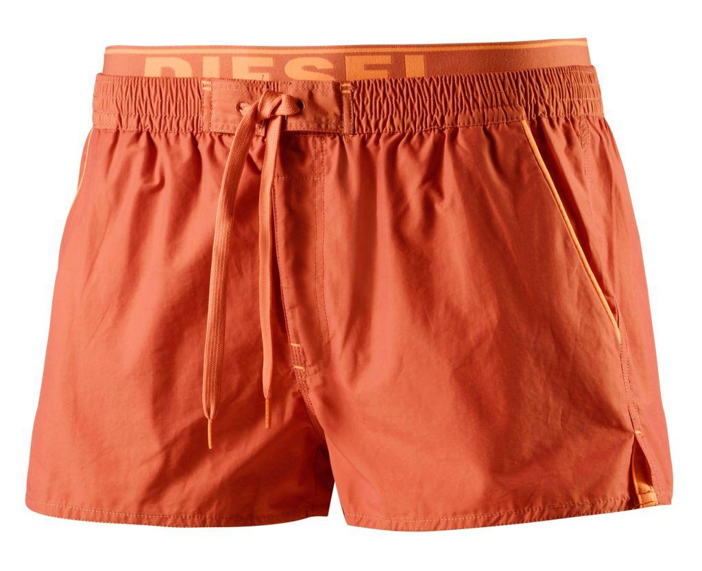 Barrely Badeshorts Herren in orange, Größe XXL