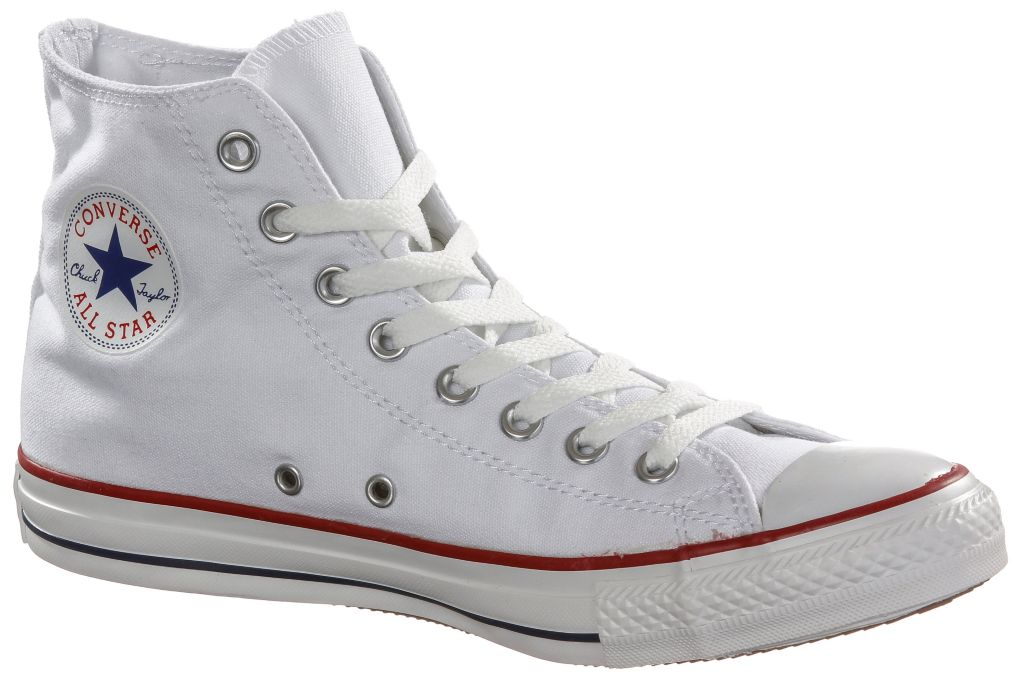 Chuck Taylor All Star Sneaker in weiß, Größe 45