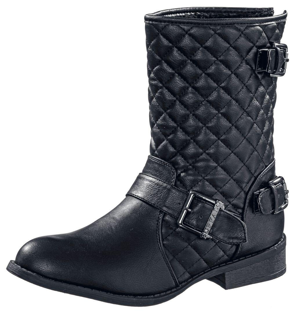 Bootie Damen in schwarz, Größe 37