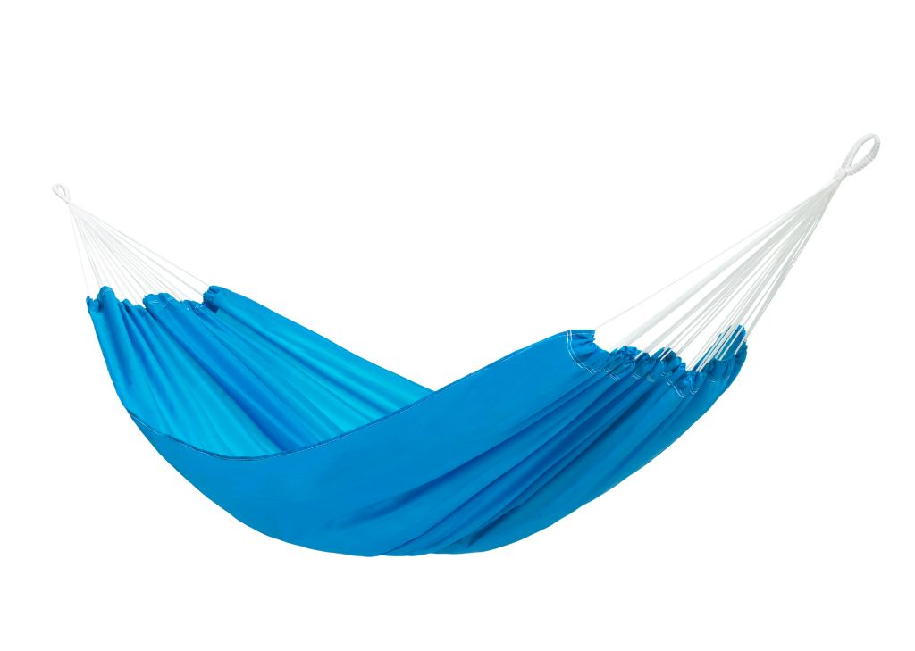Hängematte in blau