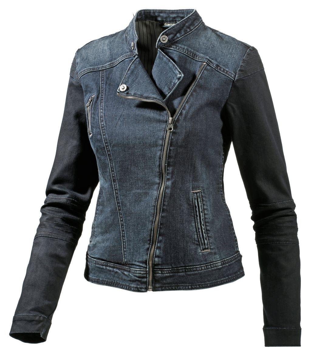 Jeansjacke Damen in blau, Größe M