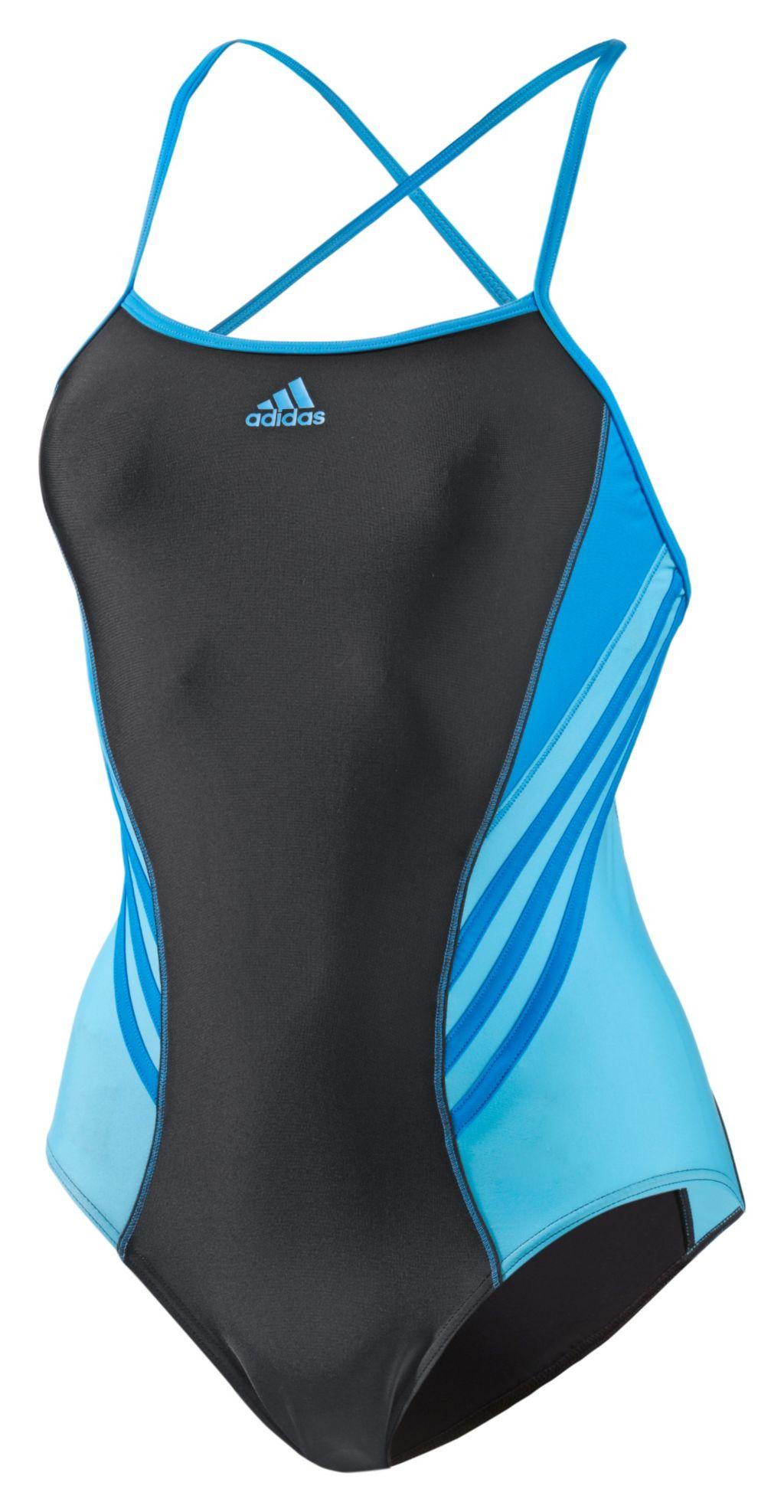 Schwimmanzug Damen mehrfarbig, Größe 34