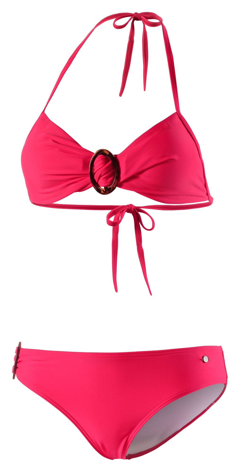 Bandeau Bikini Damen in rot, Größe 36 / B