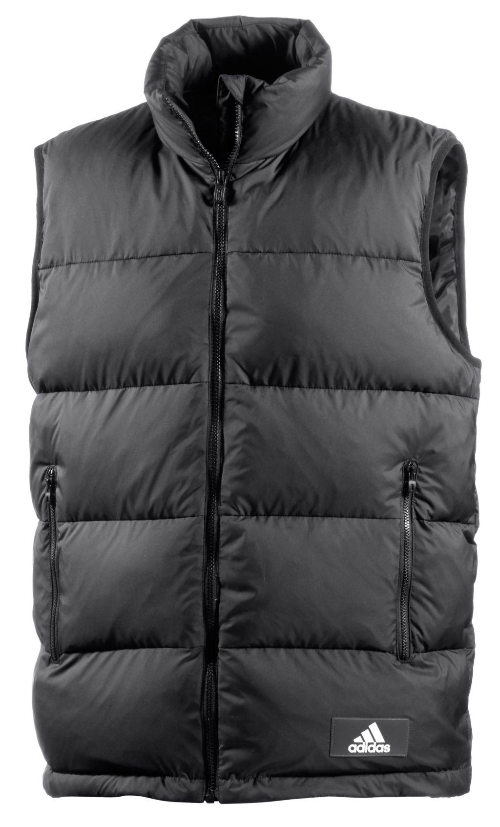 Adidas Daunenweste Herren in schwarz, Größe XL