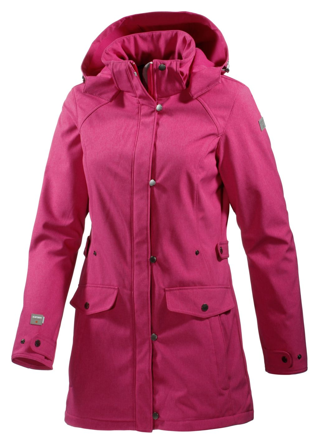 Ice Peak Vyra Softshellmantel Damen in rosa, Größe 42