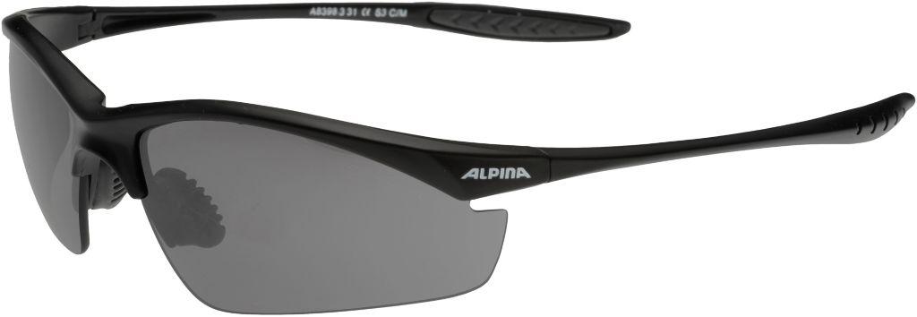 Tri Effect Sportbrille in schwarz