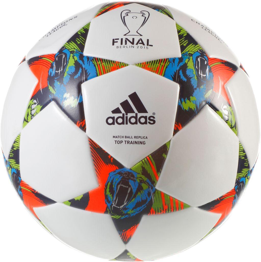 Champions League Fußball mehrfarbig, Größe 5
