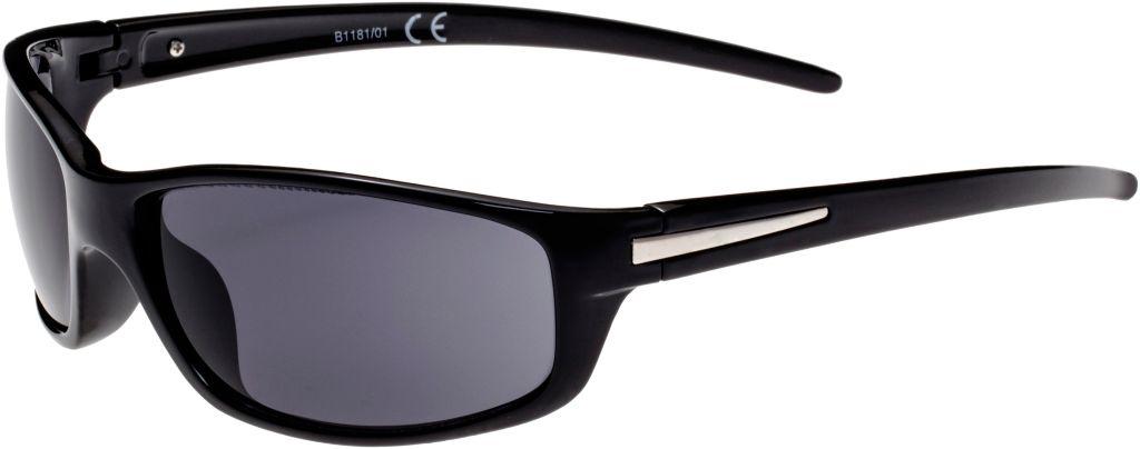 Sonnenbrille Herren in schwarz