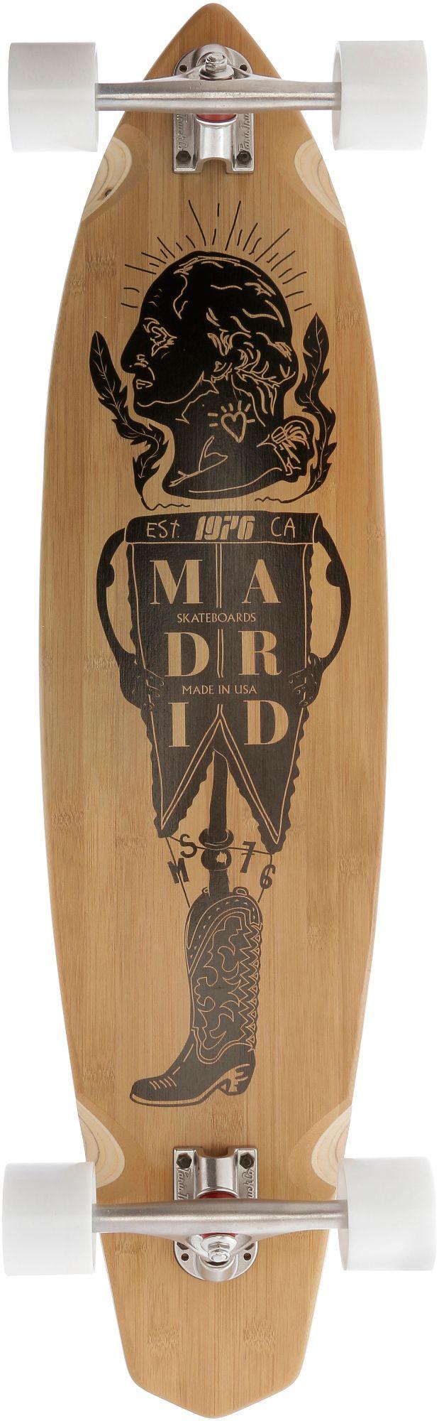 """Madrid Longboard Dude Bamboo 38,75"""""""" President Longboard-Komplettset (SportScheck)"""