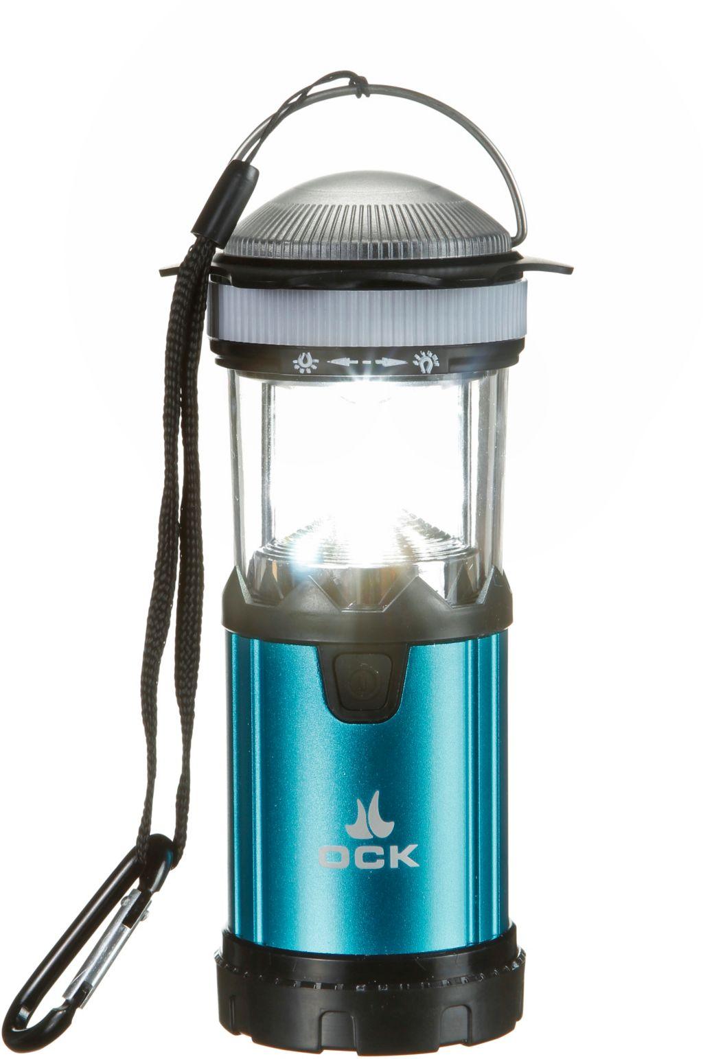 Campinglampe in blau