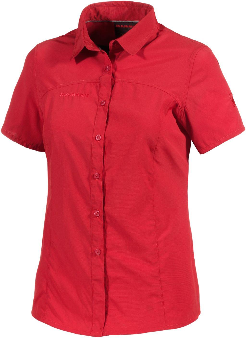 Hera Funktionsbluse Damen in rot, Größe XL
