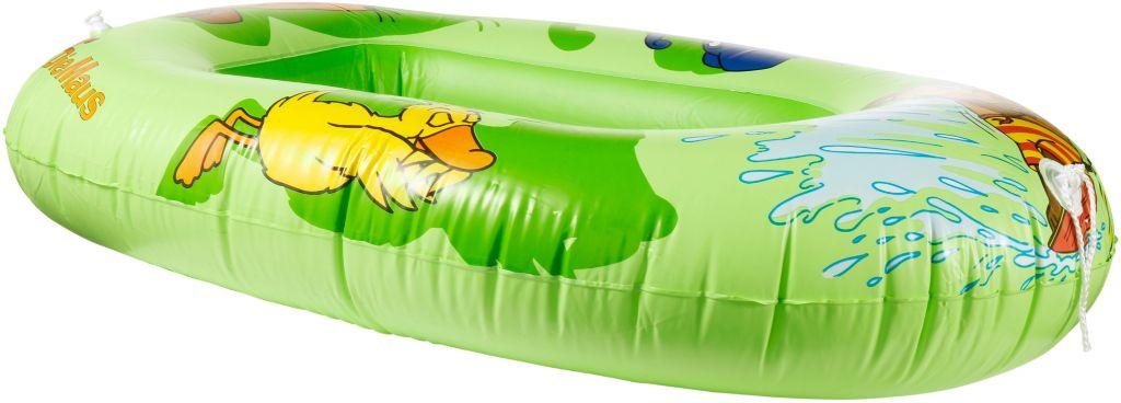 Schlauchboot Kinder in grün